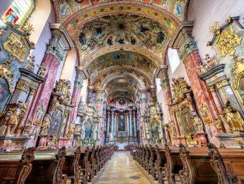 Kostel sv. Ducha a klášter minoritů, Levoča. foto: Jiří Částka, www.MediaFoto.cz